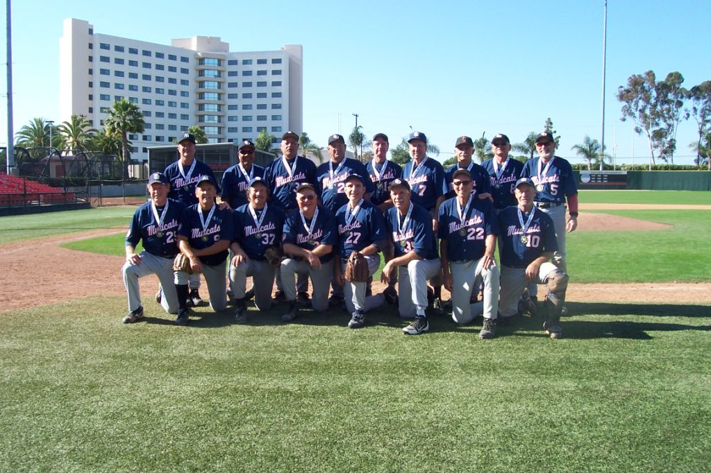 2012 Champs - SD 65+ Mudcats