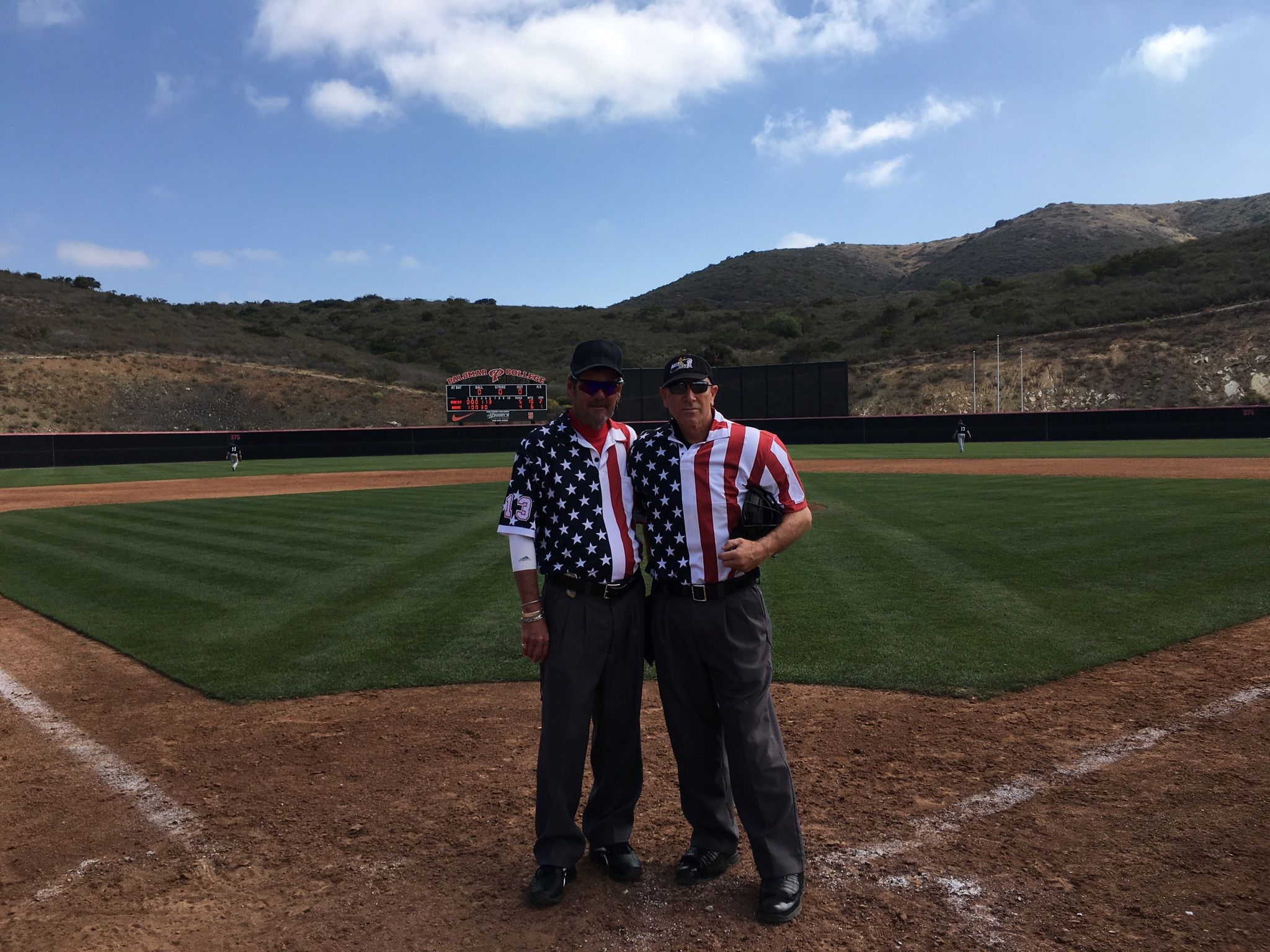 2018 Umpires at Palomar